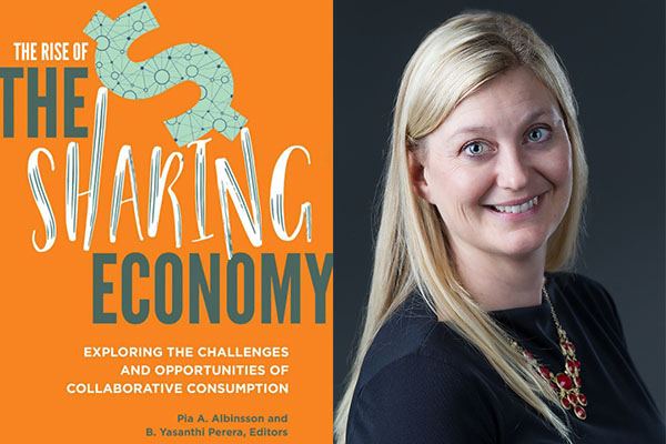 Appalachian's Pia Albinsson explores the 'sharing economy' in new book