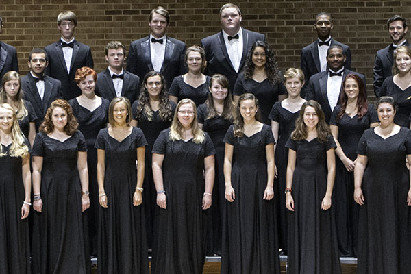 Hayes School of Music's University Singers to perform at American Choral Directors Association Conference