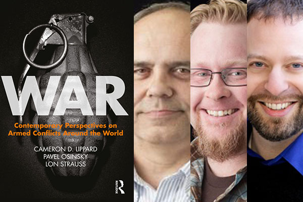 Appalachian professors co-author book about contemporary perspectives on war