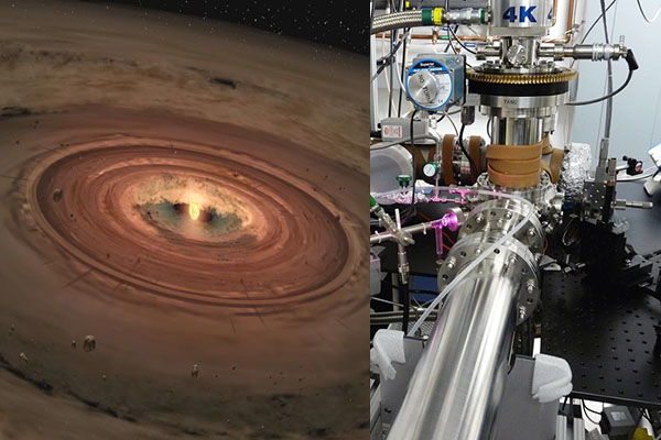 NASA grant supports Appalachian's astrochemistry research of disks around forming stars