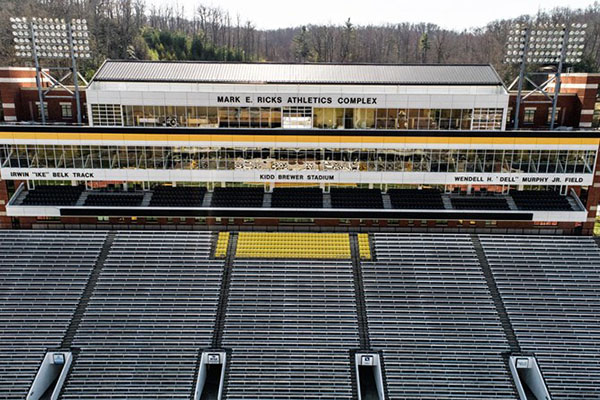 Appalachian State Athletics Complex Named for Alum Mark Ricks
