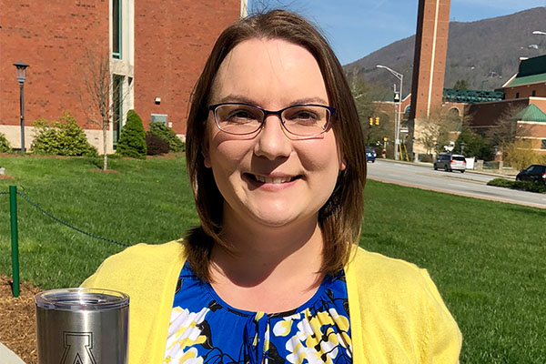 Appalachian's Shayla Marcum wins Staff Shout Out quarterly drawing