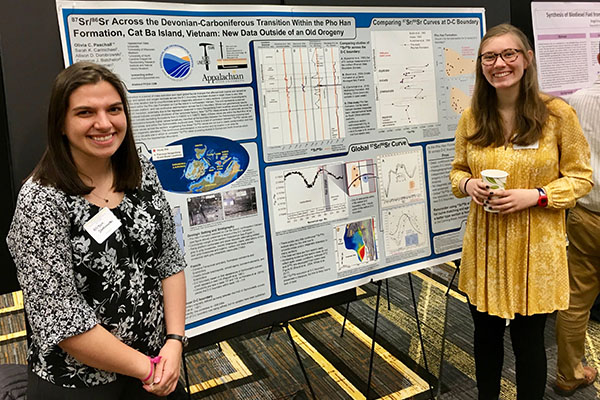 Appalachian geology majors receive Explorers Club student grants for research in Mongolia