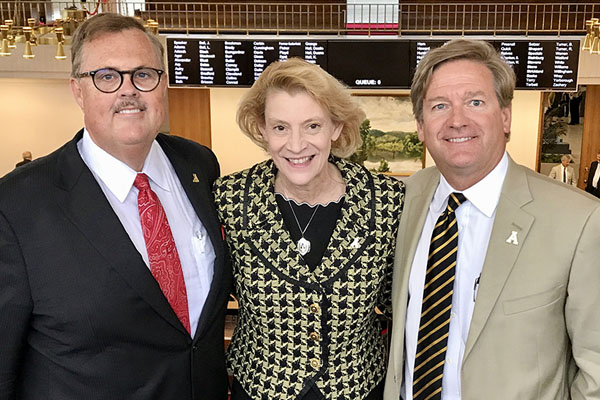Chancellor Everts addresses Appalachian's Board of Visitors and visits legislators in Raleigh