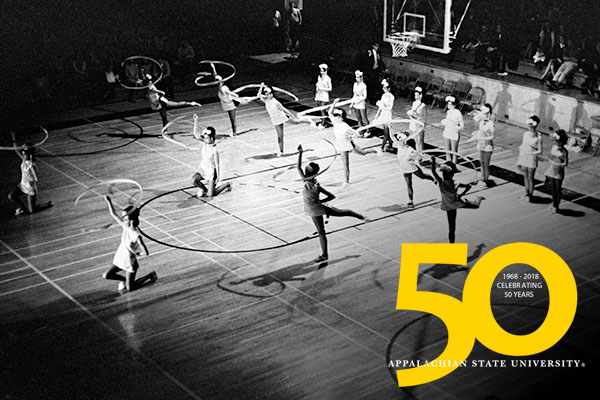 Celebrating 50 years — Appalachian's growth in university status and its Class of 1968