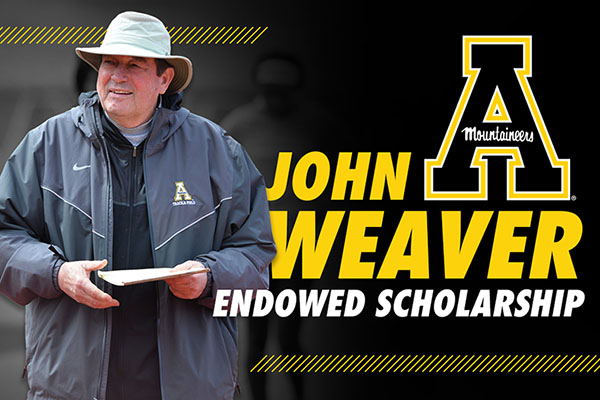 John Weaver Endowed Scholarship to benefit Appalachian Athletics programs