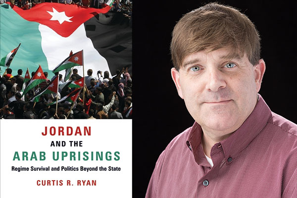 'Jordan and the Arab Uprisings' — the latest book by Appalachian's Curtis Ryan — published by Columbia University Press