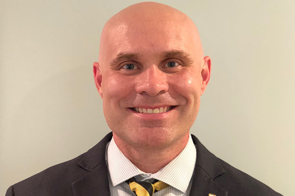 Dr. Michael McKenzie '99 named dean of Appalachian's Cratis D. Williams School of Graduate Studies