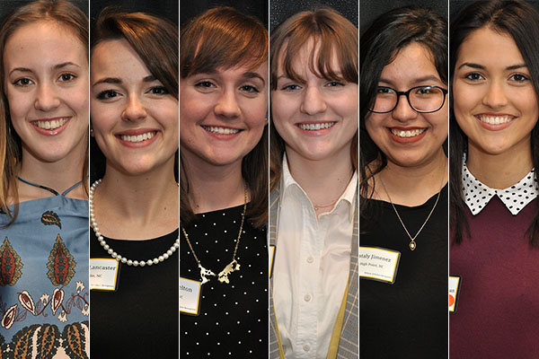 Appalachian State University announces 2018 Wilson Scholars