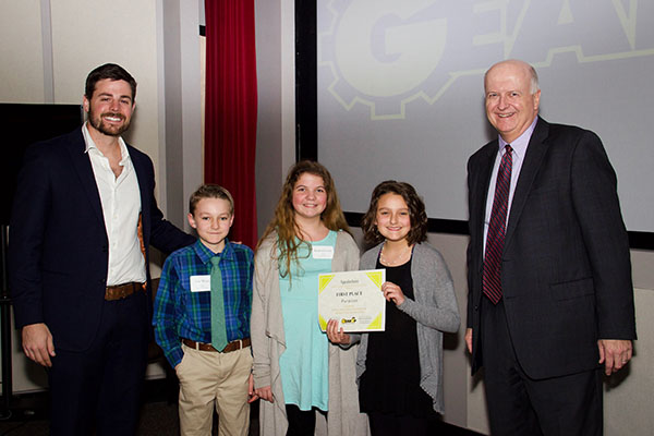 Innovative business ideas win regional students scholarships in Appalachian's GEAR UP Pitch Competition