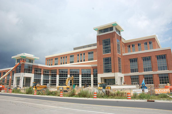 Levine Hall on schedule to open for fall semester