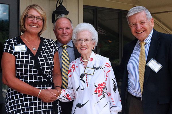 4 Appalachian alumni inducted into the Reich College of Education Rhododendron Society