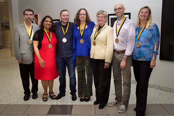 Sywassink Awards conferred to 7 faculty and staff members in Appalachian's Walker College of Business