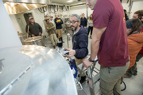 Fermentation sciences program — and its opportunities — grow at Appalachian