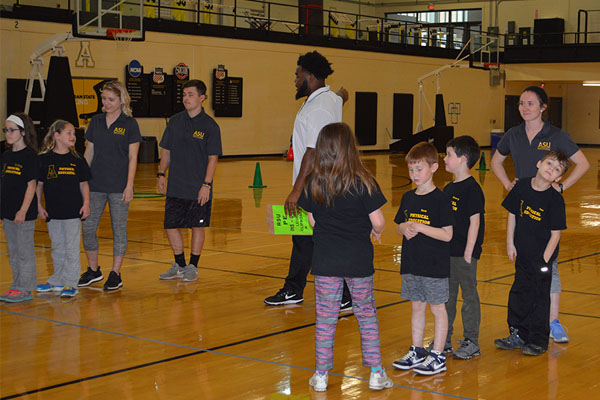 Appalachian Home School Physical Education Program 'SPARKs' active lifestyle for local children