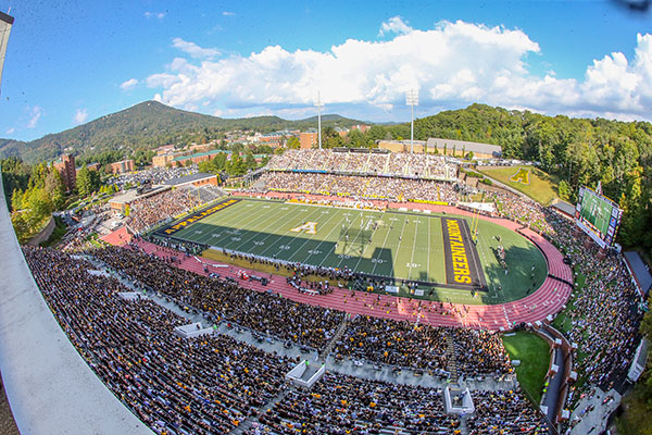 App State-Southern Miss Football Game Will Not Be Played Saturday