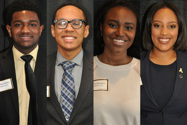 4 Fleming Scholars join Appalachian's newest students