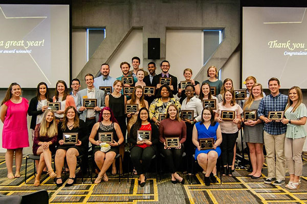 Appalachian confers awards for outstanding leadership of students, student organizations and advisors