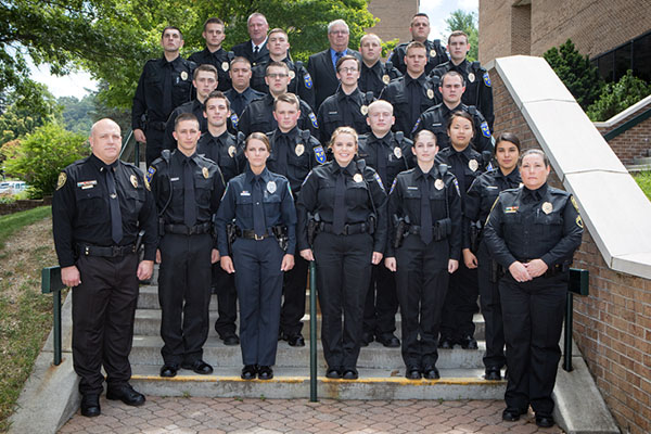 First class graduates from Appalachian Police Academy — 100 percent pass state certification