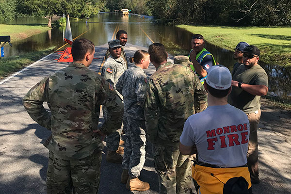 15 Appalachian student veterans aid in Hurricane Florence recovery efforts