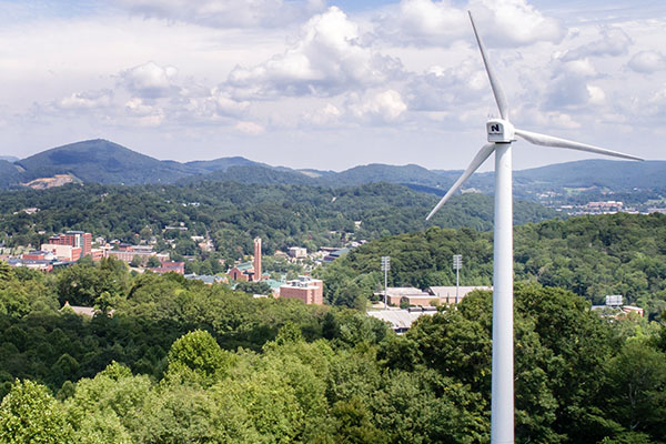 Campus sustainability efforts at Appalachian are a 'win-win-win,' garner Appalachian top rankings from AASHE and SIERRA magazine