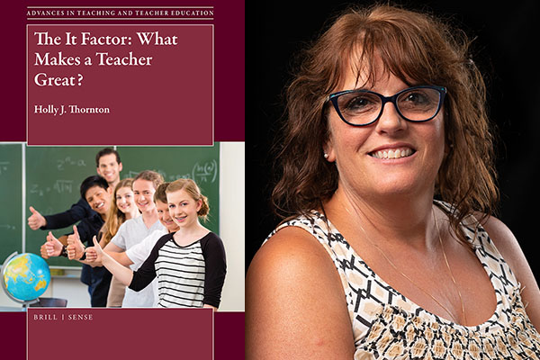 Appalachian's Holly Thornton authors 'The It Factor: What Makes a Teacher Great'