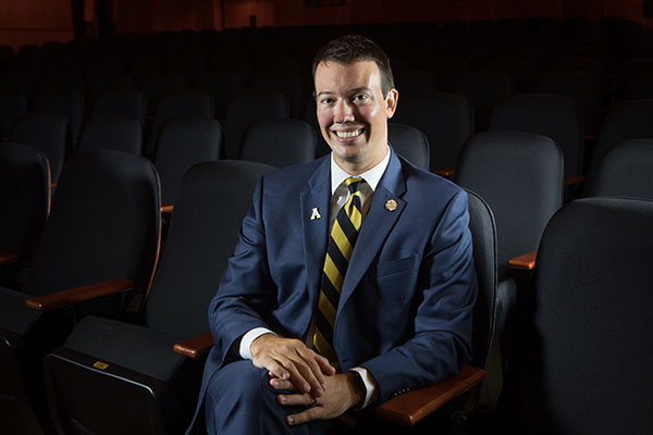 David English '04 '06 leads day-to-day operations at UNCSA