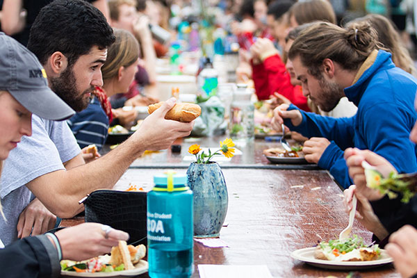 Appalachian's Community FEaST 2018 serves dialogue around sustainable food as main course