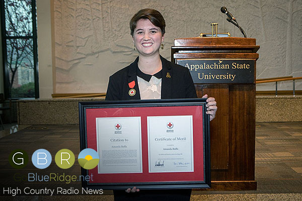 ASU Student Receives American Red Cross' Highest Award