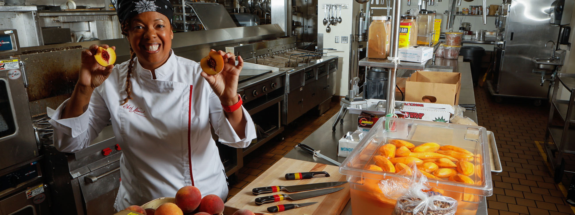 At Appalachian, chef Monica Smith 'put some meat to her love of food'
