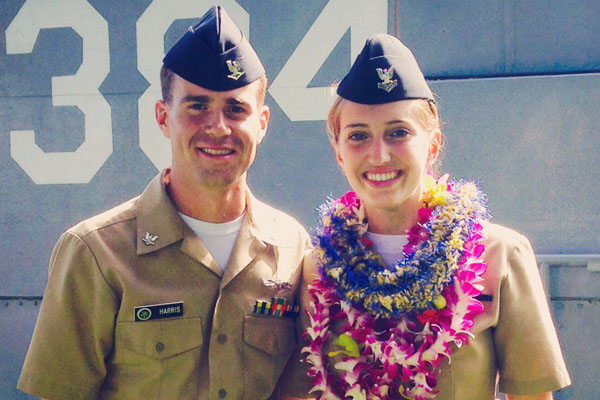 Military couple pursues degrees together in Beaver College of Health Sciences