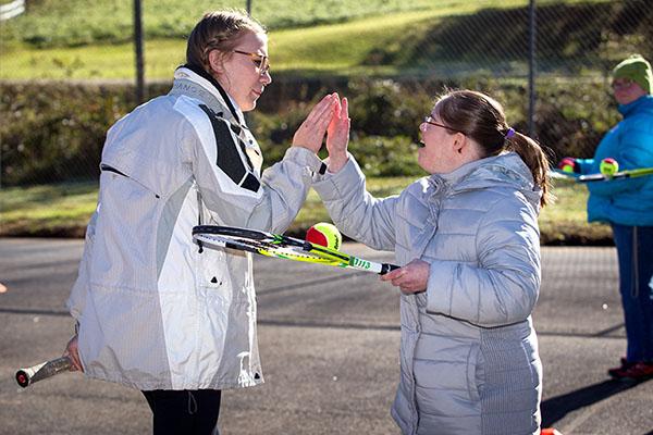 Special Olympics Watauga County Expo — Appalachian State University students lend a hand
