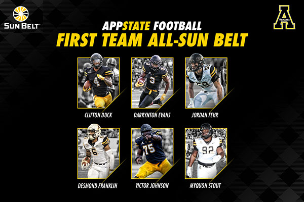 Awards for Thomas, Satterfield Headline All-Sun Belt Honors