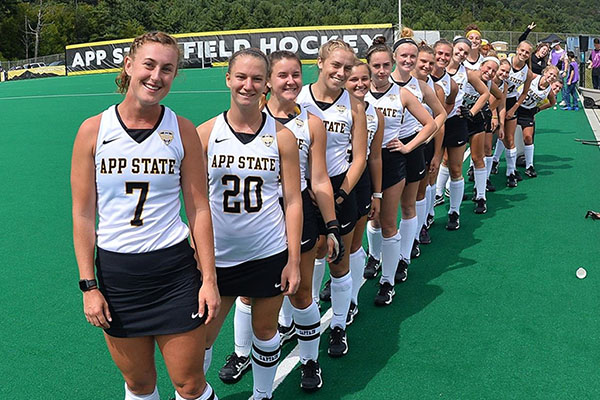 Women's athletics at Appalachian — 50 years strong, the heart beats on
