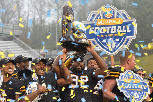 App State Wins First Sun Belt Title Game