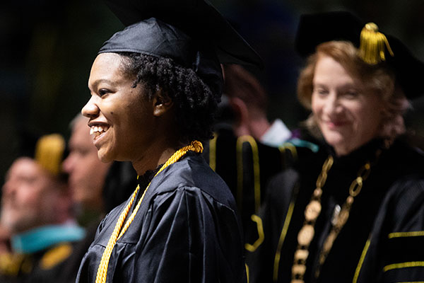 'Honoring, praising and congratulating' Appalachian's graduates at Fall 2018 Commencement