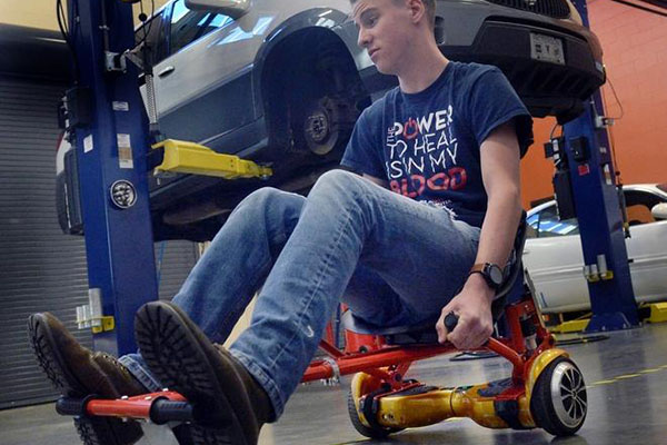 CTEC students re-think electric-powered vehicles