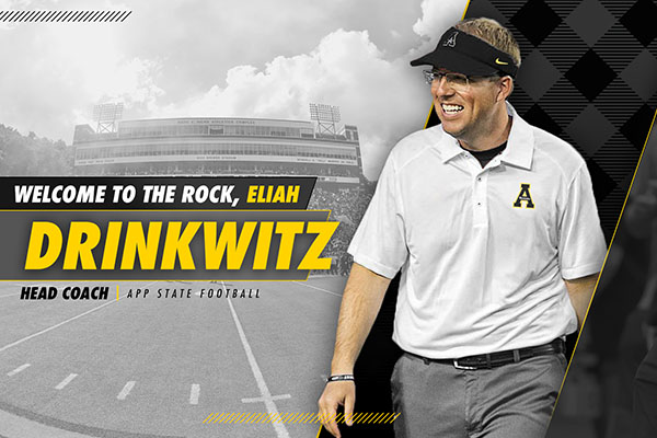 Drinkwitz Tabbed to Lead App State Football Program