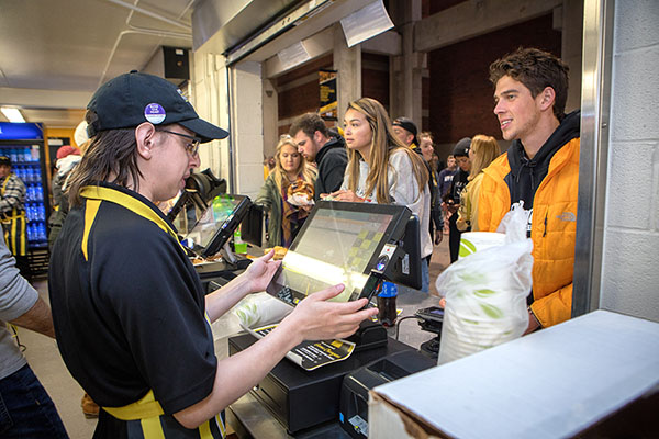 Mountaineer Concessions excites fans with new, sustainable-minded menus