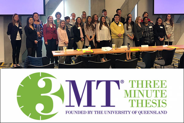 College of Arts and Sciences students take top awards in Appalachian's 3MT competition