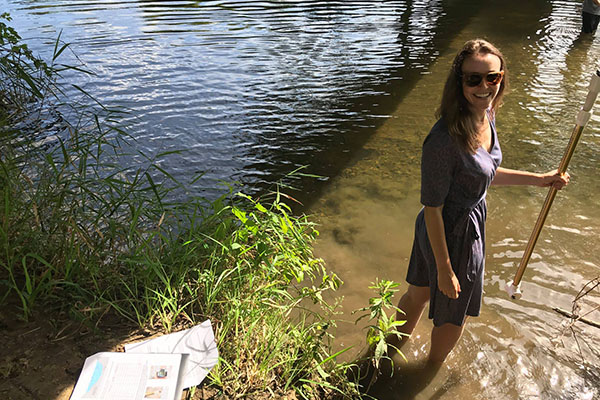 Dr. Sarah Evans makes hydrogeology studies relevant to everyday life