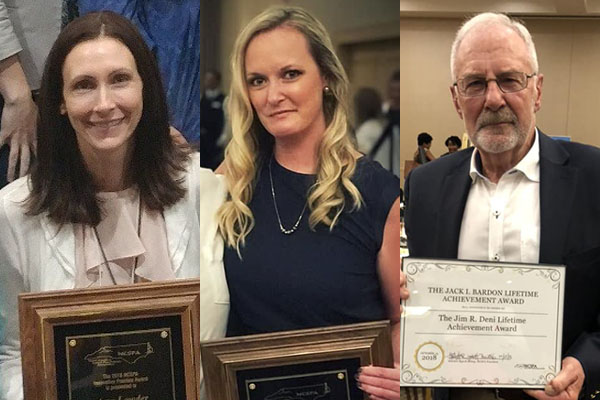 School psychology alumnae, faculty member receive top awards from the NCSPA