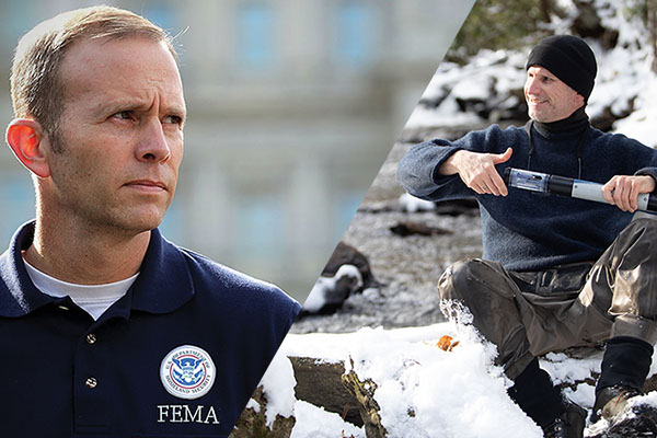 FEMA Administrator Brock Long and Appalachian professor Dr. Shea Tuberty on resiliency