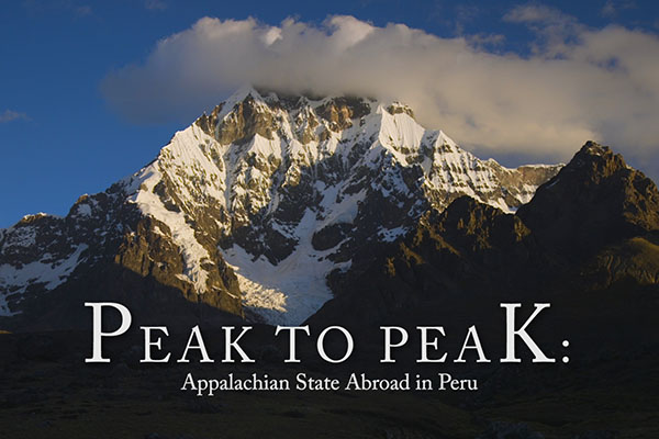 Peak to peak — Mountaineers study abroad in Peru