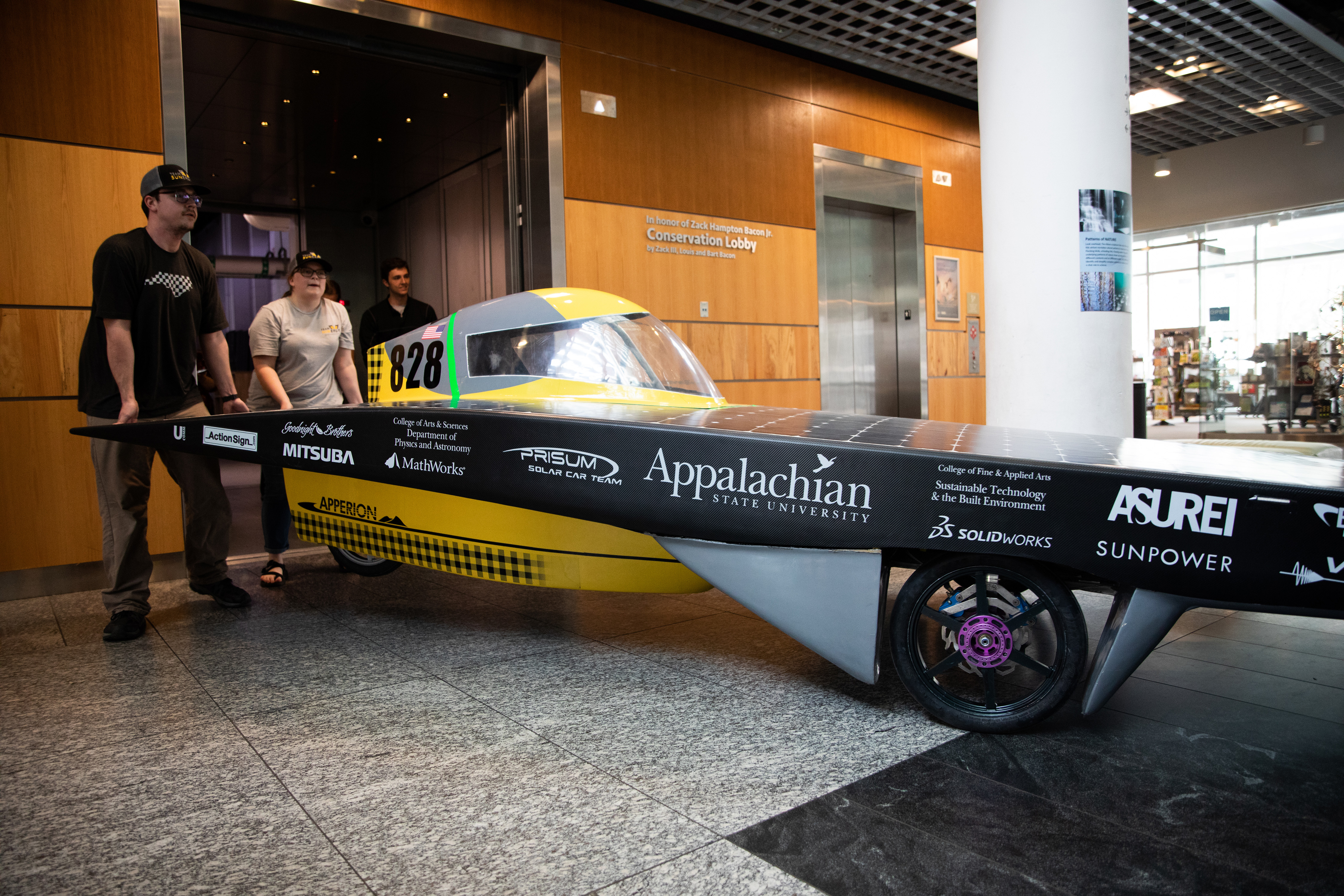 Appalachian S First Solar Vehicle Apperion Featured In 2019 Triangle Scitech Expo Appalachian Today