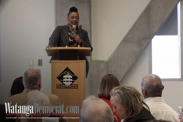 Bernice King talks to ASU crowd about inclusion, injustice