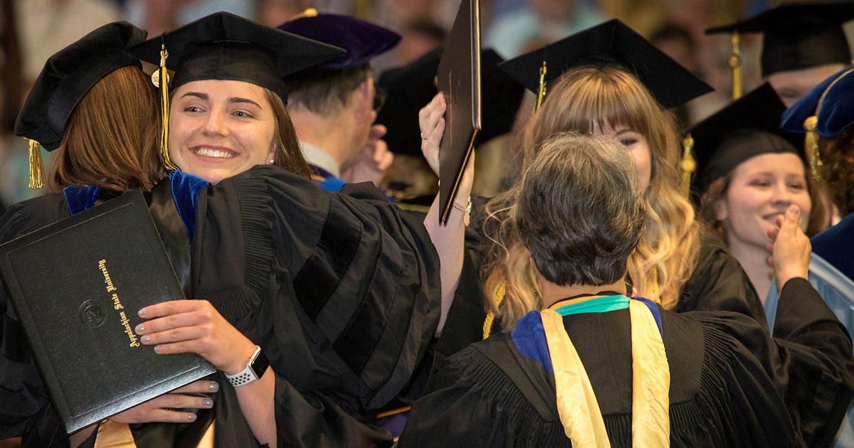 Appalachian celebrates its Class of 2019 — nearly 4,000 students