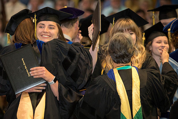 Appalachian celebrates its Class of 2019 — nearly 4,000 students — at Spring 2019 Commencement