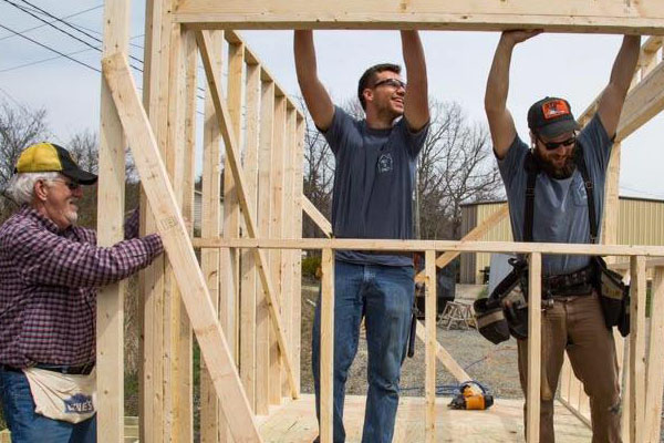 App State engages with local community to build Habitat for Humanity home