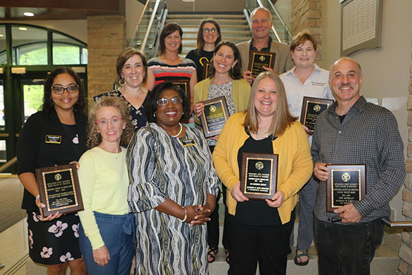 Reich College of Education recognizes outstanding teaching, mentorship and more with its 2019 awards